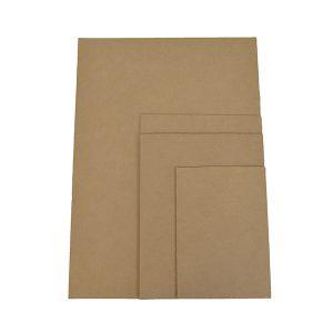 Planchas de cartón