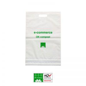 Sobres per a enviament ecommerce biodegradables