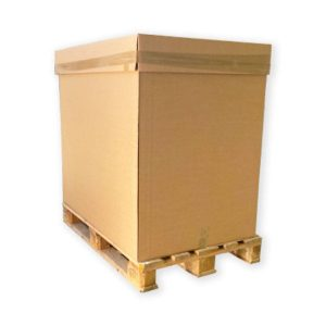 box pallet de cartón