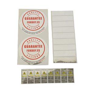 Etiquetas antihurto y etiquetas de seguridad