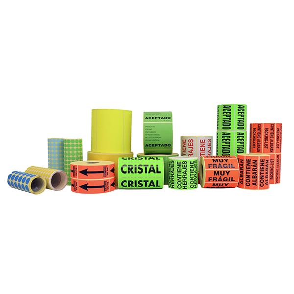 Etiquetes especials per embalaje