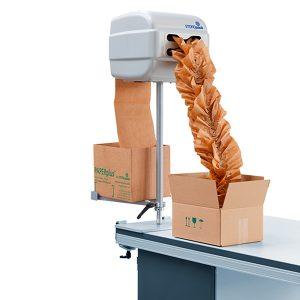 Sistemas de embalaje con papel