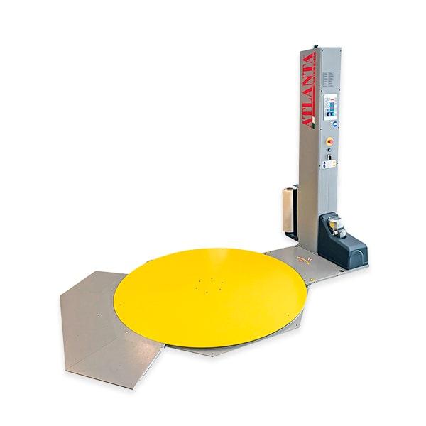 Envolvedoras de palets con plataforma giratoria de perfil bajo