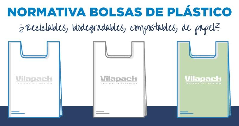 Normativa bolsas plástico reciclable