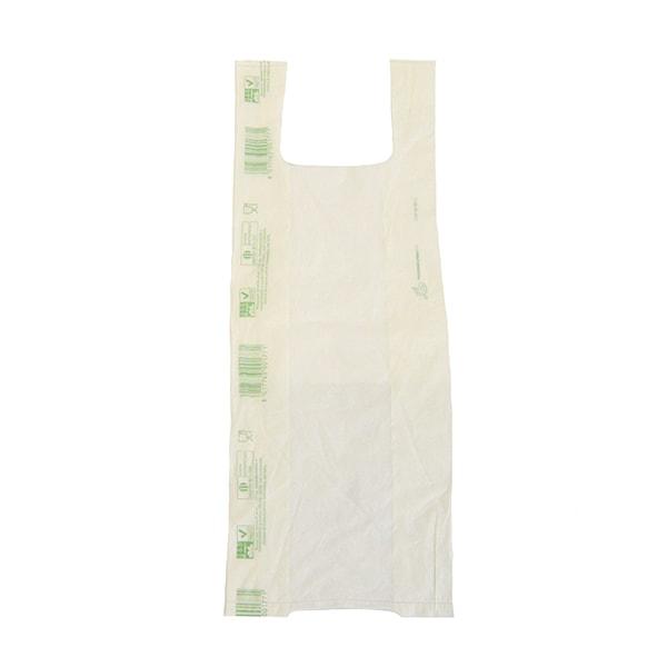 Bolsas camiseta biodegradables