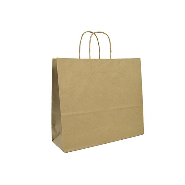 bolsa papel asa retorcida