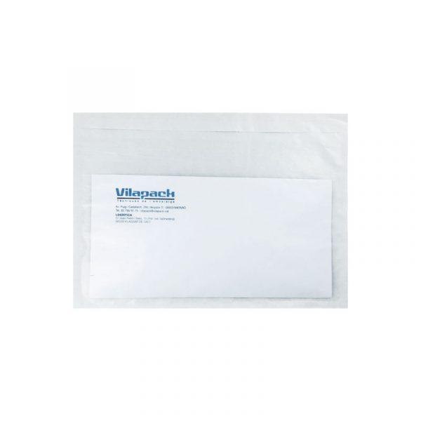 sobres de papel packing list