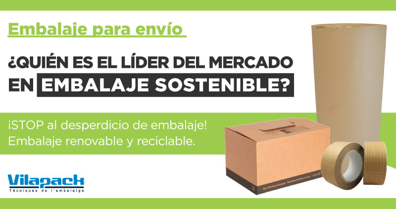 Embalaje sostenible Amazon