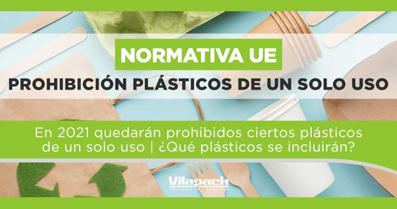 prohibición plásticos de un solo uso