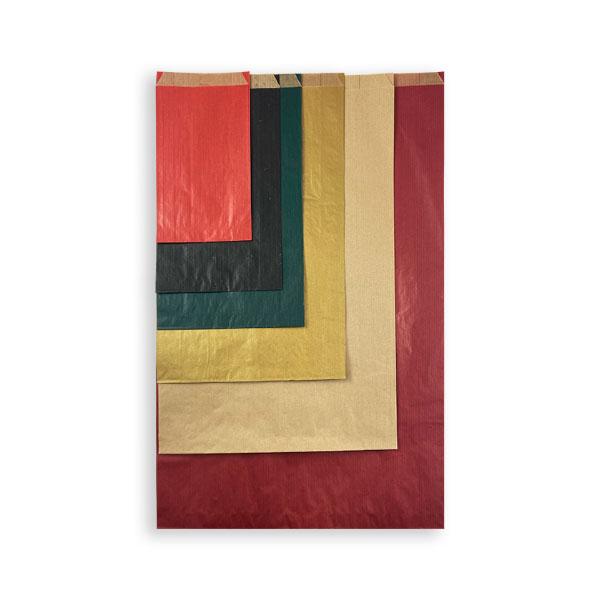 Sobres de papel kraft de colores