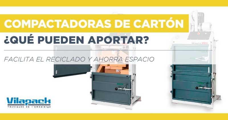 Ventajas de tener una compactadora de cartón