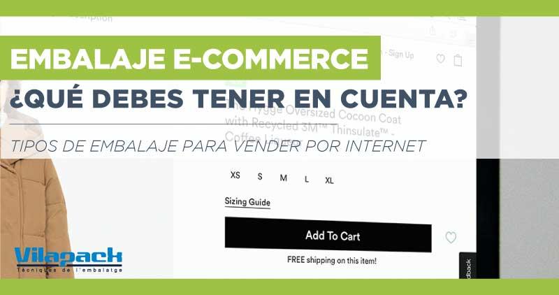embalaje para empezar a vender online