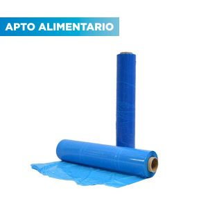 Film alimentación azul