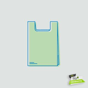 Comprar bolsa camiseta biodegradable