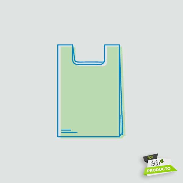 Comprar bolsa camiseta biodegradable