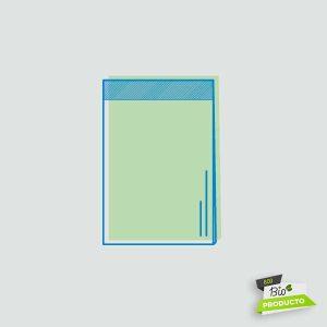 Comprar bolsa biodegradable con solapa adhesiva