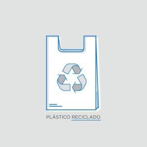 Bolsa plástico reciclado