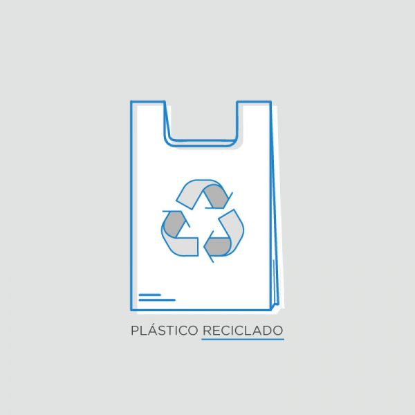 Bossa plàstic reciclat