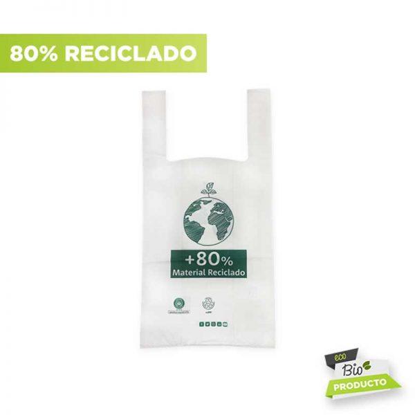 bolsa camiseta 80 reciclado