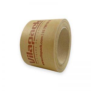 Cinta adhesiva de papel Kraft reforzada personalizada