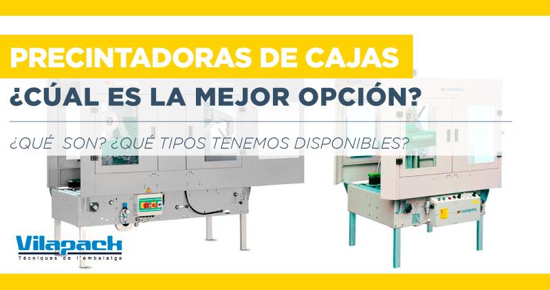 maquinas precintadoras de cajas